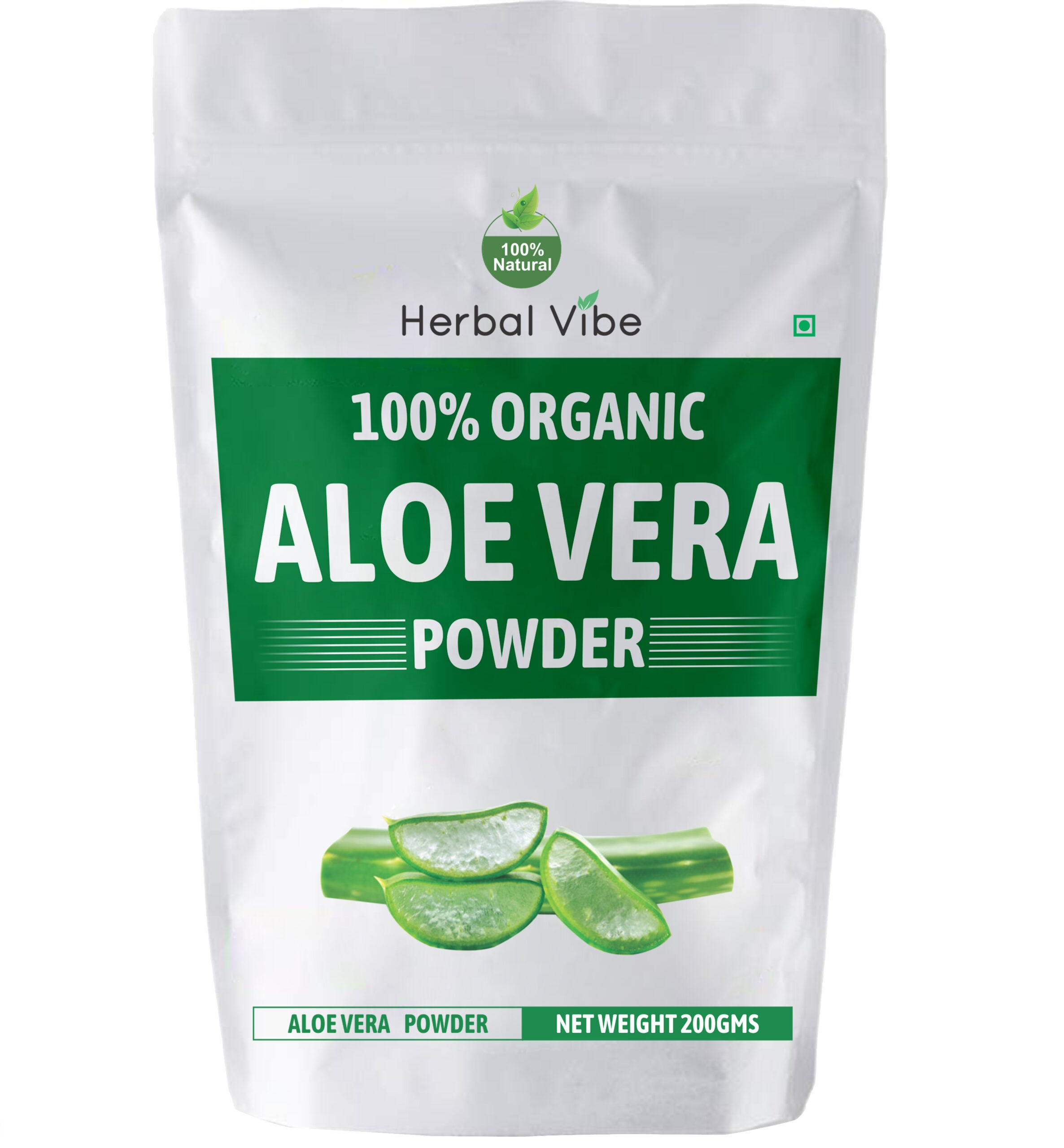 Aloe Vera Powder for Face & Skin
